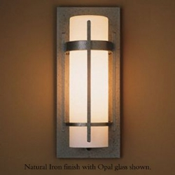 """Banded 12"""" Small Outdoor Wall Light By Hubbardton Forge"""