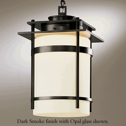"""Banded 22"""" Outdoor Pendant Light Fixture By Hubbardton Forge"""
