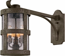 "Barbosa 15"" Exterior Wall Lantern By Troy - Bronze B3315"