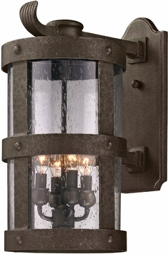 "Barbosa 15"" Exterior Wall Light By Troy - Bronze B3312"