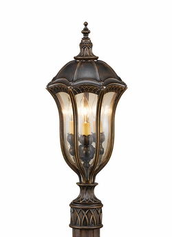 "Baton Rouge 22"" Outdoor Post Lantern by Murray Feiss OL6007WAL"