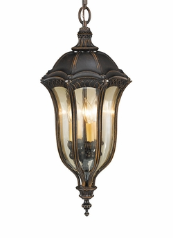 Baton Rouge Traditional Duo-Mount Hanging Outdoor Pendant Light by Murray Feiss OL6012WAL