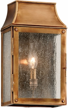 "Beacon Hill 12.75"" Outdoor Light Sconce By Troy - Brass B3421"