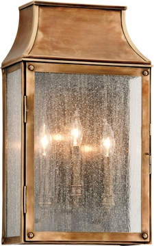 "Beacon Hill 19.75"" Outdoor Wall Sconce By Troy - Brass B3423"