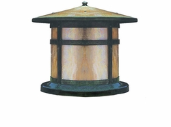 "Berkeley 10.125"" Exterior Deck Light By Arroyo Craftsman"