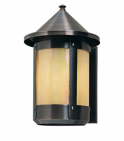 "Berkeley 11.25"" Outdoor Wall Lantern By Arroyo Craftsman"