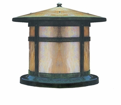 "Berkeley 12"" Outdoor Deck Light By Arroyo Craftsman"