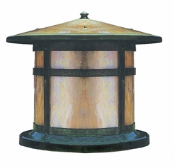 "Berkeley 13.75"" Outdoor Pier Mount Light By Arroyo Craftsman"