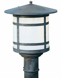 "Berkeley 15.125"" Outdoor Lamp Post By Arroyo Craftsman"