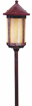 "Berkeley  35.125"" Outdoor Pathway Lighting Fixture By Arroyo Craftsman"
