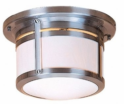 "Berkeley 7.6"" Flush Mount Outdoor Lighting By Arroyo Craftsman"
