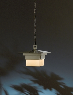 Bungalow 9.7 Hanging Outdoor Light By Hubbardton Forge - Halogen 366520