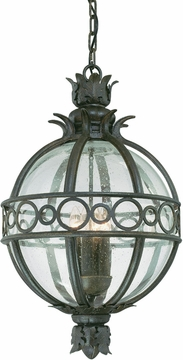 """Campanile 23.5"""" Tropical Outdoor Pendant Light by Troy F5008CB"""