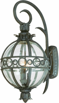 Campanile Tropical Exterior Wall Sconce by Troy B5003CB