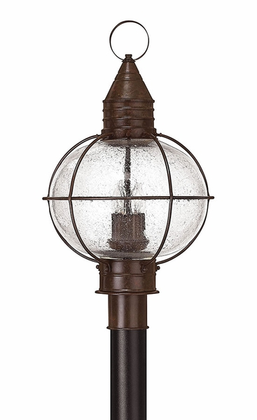 Cape cod 2375 outdoor post lamp by hinkley bronze 2201sz aloadofball Choice Image