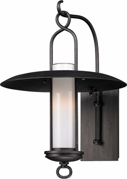 "Carmel 18.25"" Outdoor Wall Lamp By Troy - Graphite B3332"