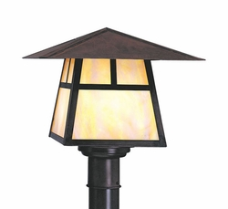 "Carmel 6.5"" Outdoor Lighting Post Lamp By Arroyo Craftsman"