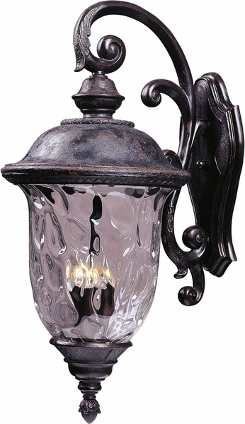 Carriage House 31 Exterior Wall Light By Maxim Bronze 40498