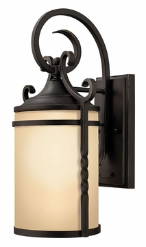 "Casa 13"" Mediterranean Exterior Wall Light in Wrought Iron by Hinkley 1140OL"