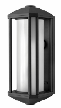 Castelle Contemporary Outdoor Wall Light by Hinkley 1395BK