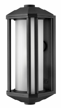 Castelle Outdoor Wall Sconce -  Cast Aluminumby Hinkley 1390BK