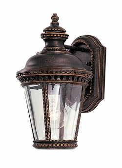 "Castle 11.75"" Outdoor Wall Sconce By Murray Feiss - Bronze OL1900GBZ"