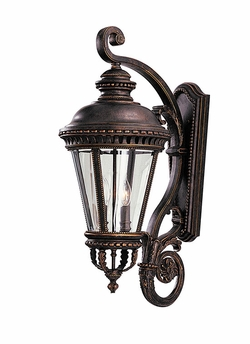 "Castle 31"" Exterior Wall Sconce By Murray Feiss - Bronze OL1904GBZ"