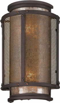 "Copper Mountain 14.25"" Outdoor Wall Lighting By Troy - Bronze B3272"