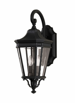 "Cotswold Lane 20.5"" Exterior Wall Light By Murray Feiss - Classic OL5401BK"