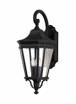 "Cotswold Lane 23.75"" Outdoor Wall Lantern By Murray Feiss - Classic OL5402BK"