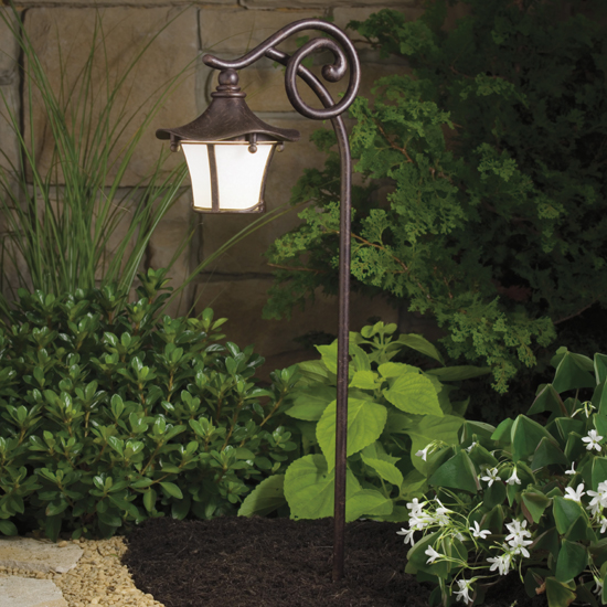 Cotswold Low Voltage Exterior Lighting Fixture by Kichler 15420AGZ ...