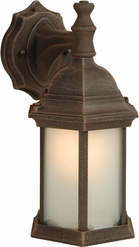 "Craftmade 12.13"" Outdoor Wall Lamp - Rust Z294-07-NRG"