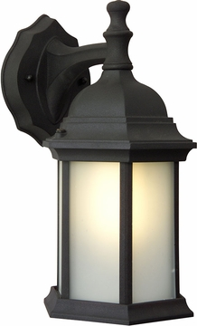 "Craftmade 12.13"" Outdoor Wall Light - Black Z294-05-NRG"