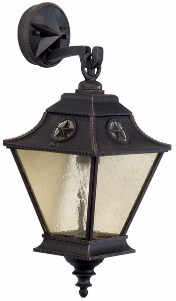 Craftmade Chaparral 19 7 Quot Exterior Wall Light Rust Z1404 07