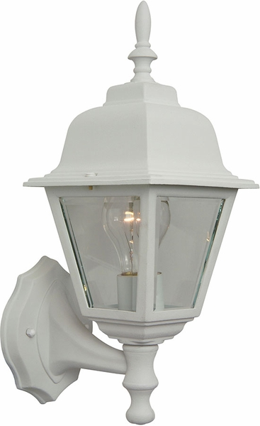 Craftmade Coach Lights 15 25 Quot Outdoor Wall Mount White