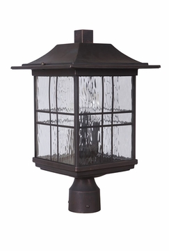 Craftmade Dorset Outdoor Post Lighting Fixture - Bronze Z7825-12