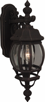 "Craftmade French Style 21.5"" Exterior Wall Lantern - Rust Z324-07"