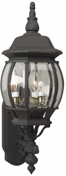 "Craftmade French Style 23.75"" Outdoor Lighting Sconce - Black Z330-05"