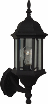 "Craftmade Hex Style 17.75"" Outdoor Lighting Sconce - Black Z290-05"