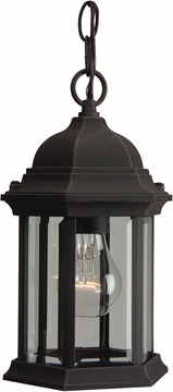 Craftmade Hex Style Outdoor Hanging Lantern - Rust Z291-07