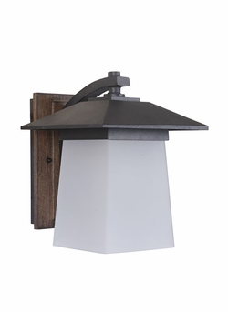 """Craftmade Terrace 11.21"""" Outdoor Wall Sconce Z2014-14-NRG"""