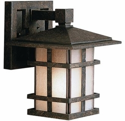 "Cross Creek 8.5"" Craftsman Outdoor Wall Sconce by Kichler 9128AGZ"