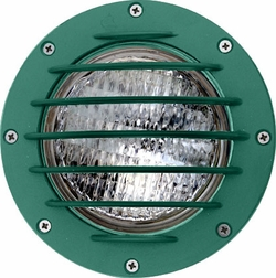 Dabmar Cast Aluminum In-Ground Well Light with Grill LV305-G-SLV