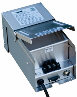 Dabmar Magnetic 300 Watt Low Voltage Buck Boost Transformer with Power Cord LVT300-A-SS