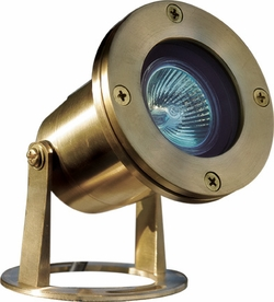 Dabmar Solid Brass Pond/Fountain Underwater Light LV323-BS