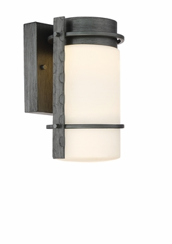 """Designers Fountain Aldridge 10.5"""" LED Outdoor Wall Sconce Lighting LED34301-WI"""
