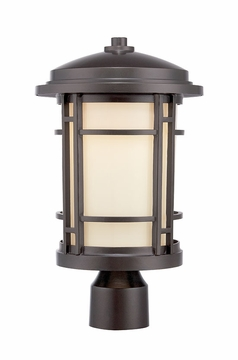 Designers Fountain Barrister LED Outdoor Post Lighting Fixture - Bronze LED22436-BNB