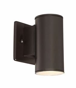 "Designers Fountain Barrow LED 6"" Exterior Wall Lighting - Bronze LED33001-ORB"