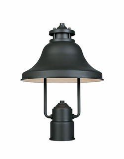 Designers Fountain Bayport Dark Sky Outdoor Post Light Fixture - Bronze 31336-BZ