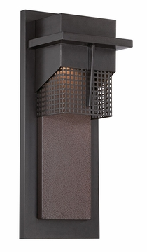 "Designers Fountain Beacon 15.5"" LED Outdoor Wall Lamp - Bronze LED32611-BNB"